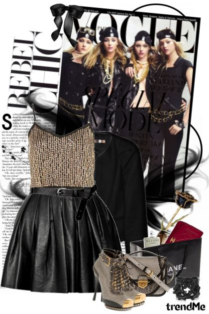 Vogue: black!