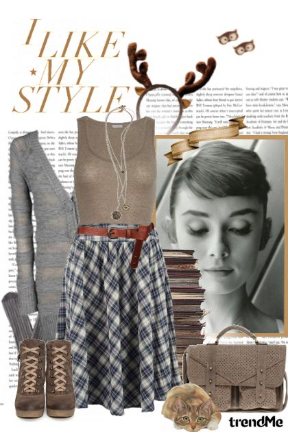 I like my style!