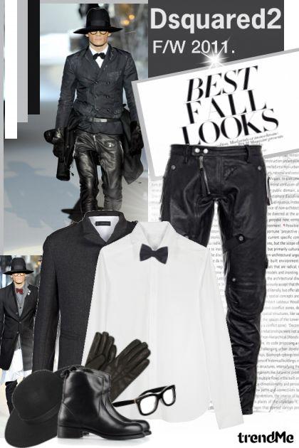 Dsquared2- Men Fashion F/W 2011/12.