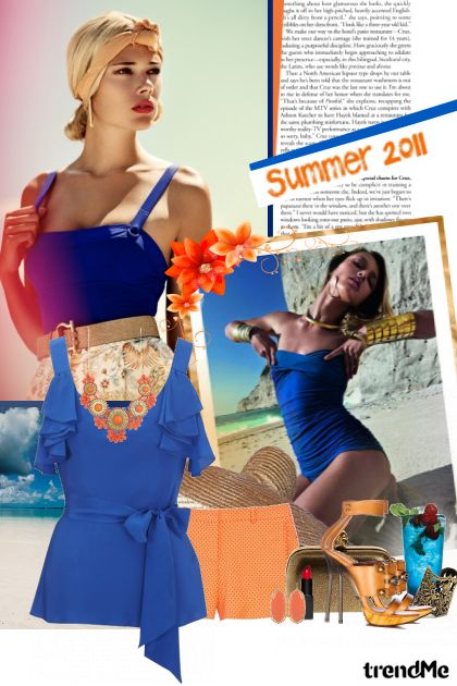 Electric blue! from collection SUMMER 2011! by Lady Di ♕
