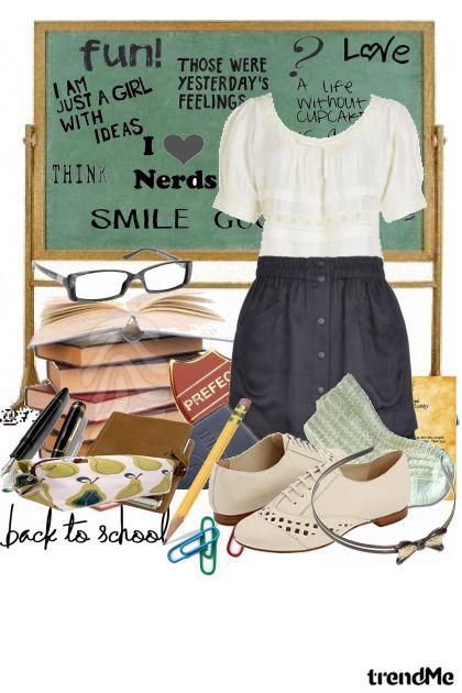Back to school- Combinazione di moda