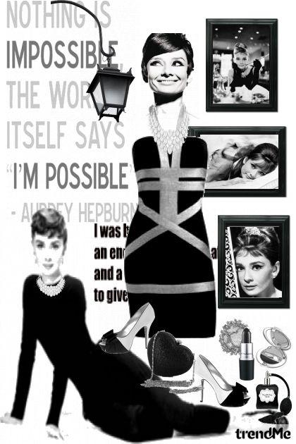 Audrey Hepburn...pure beauty