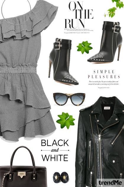 Dress & Leather Jacket
