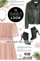 The Daily Look: Lace Dress & Leather Jacket