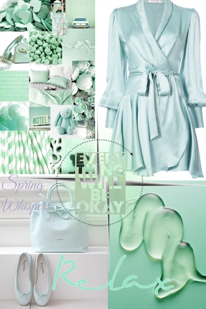 Mint touch- Fashion set