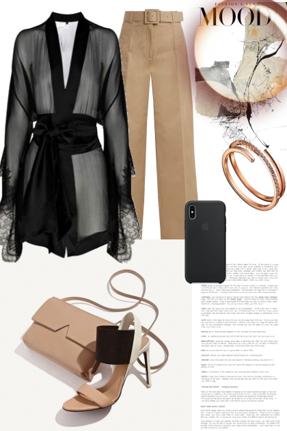 Afternoon city look- Fashion set