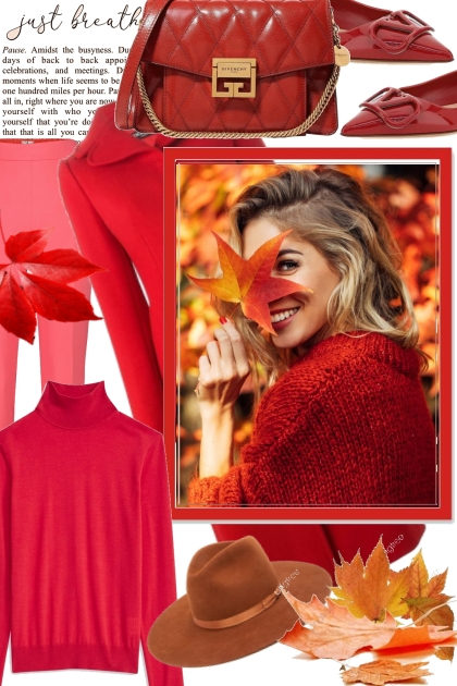 Rusty red- Fashion set