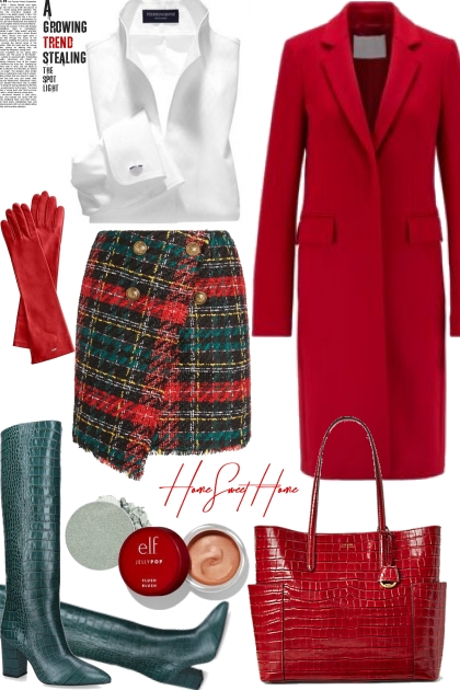 Green/Red combo- Fashion set