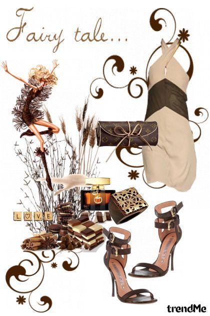 smeđa bajka- Fashion set