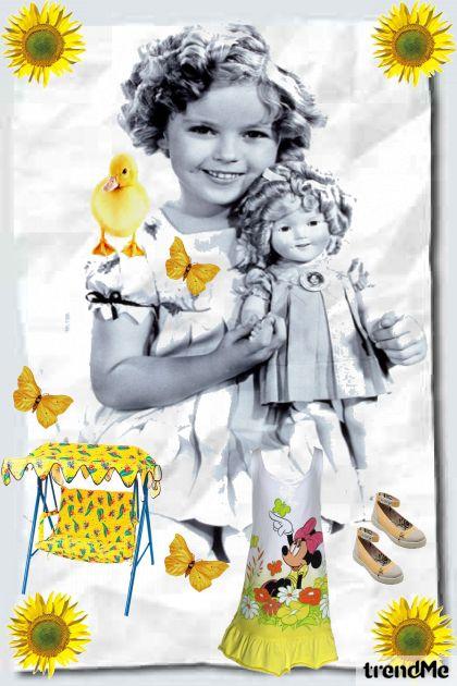 Moja lutka i ja ... za sjećanje :)