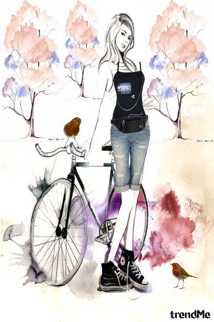 Na biciklu
