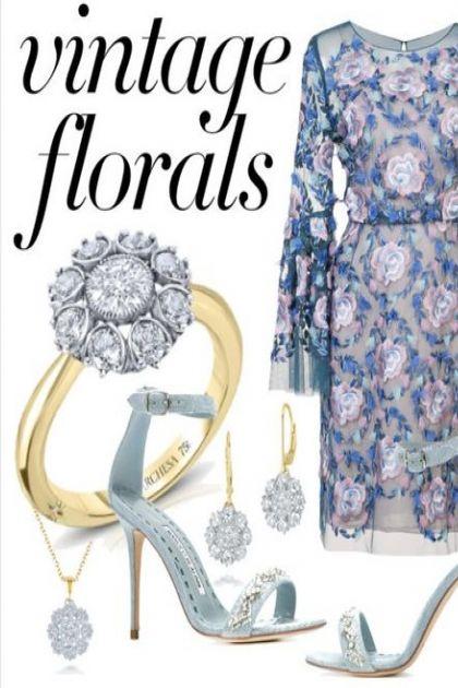 Notte by Marchesa Floral Dress