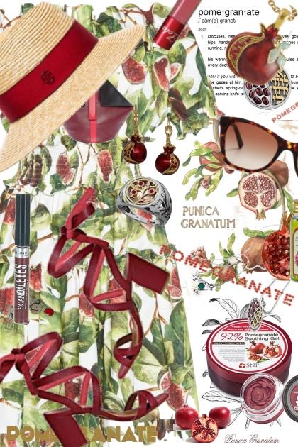 Dolce and Gabbana Pomegranate Dress