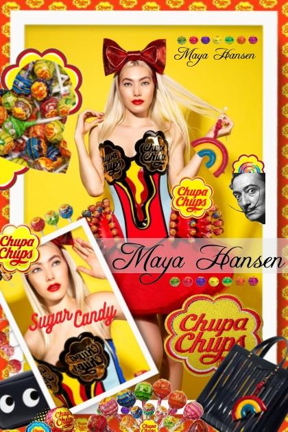 Maya Hansen Chupa Chups Candy Couture