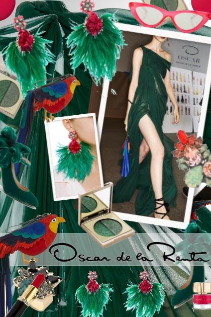 Oscar de la Renta: Emerald Green