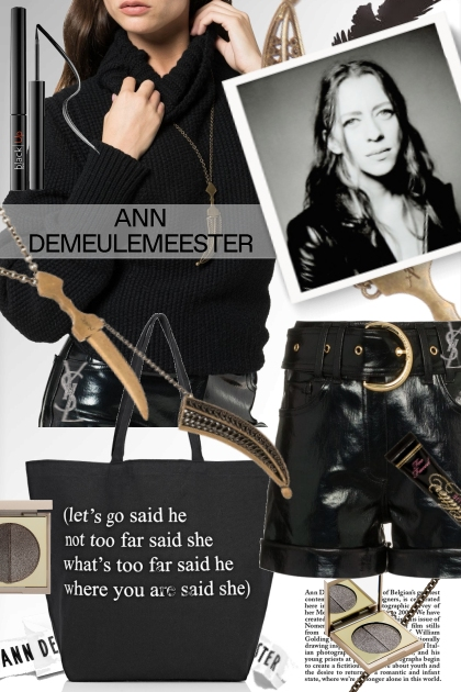 Shorts and Daggers: Ann Demeulemeester