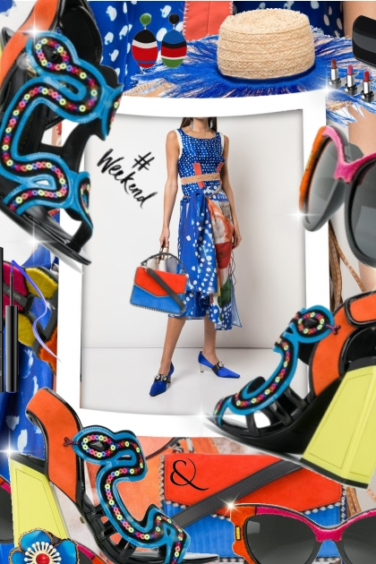 Marni Modern Mixed Print Dress