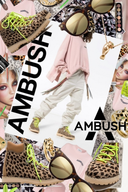 Ambushed in Leopard and Lime