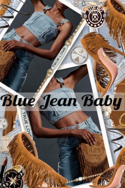 Blue Jean Baby- Fashion set