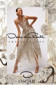 Oscar de la Renta Silk-Blend Lamé Party Dress
