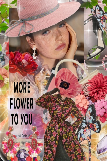 More Flower to You- Fashion set