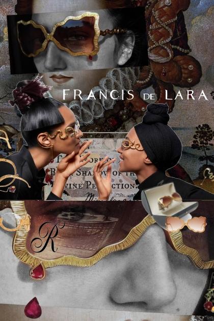 $17,027 Francis de Lara Sunglasses