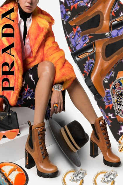 Prada Fast and Furious Platform Boots