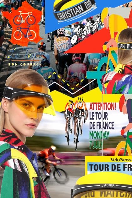 J'ADIOR Le Tour De France