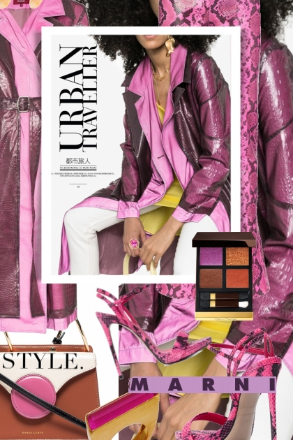 Sies Marjan Urban Traveler Trench Coat