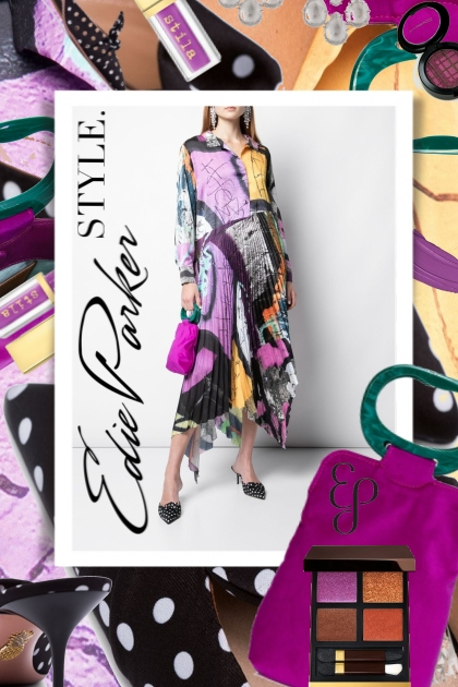 Marques Almeida Plum Color Block Fashion