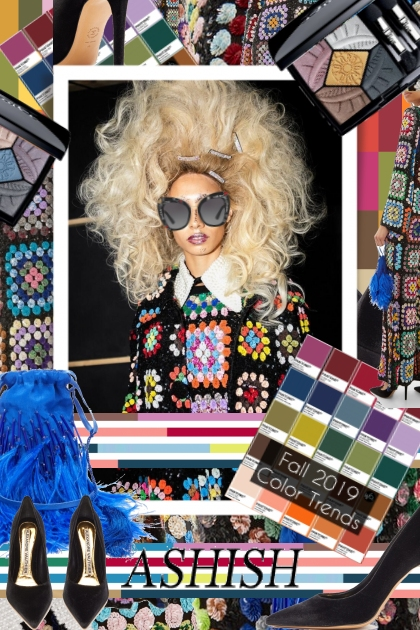 Ashish Wild Color Trends Fall Winter 2019