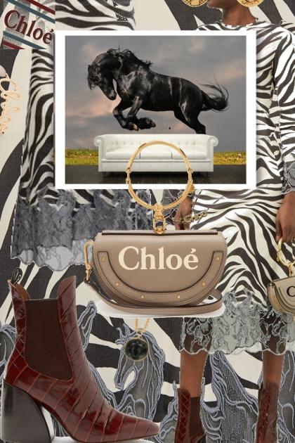 Chloé Zebra Print and Crocodile Fall 2019 Trends