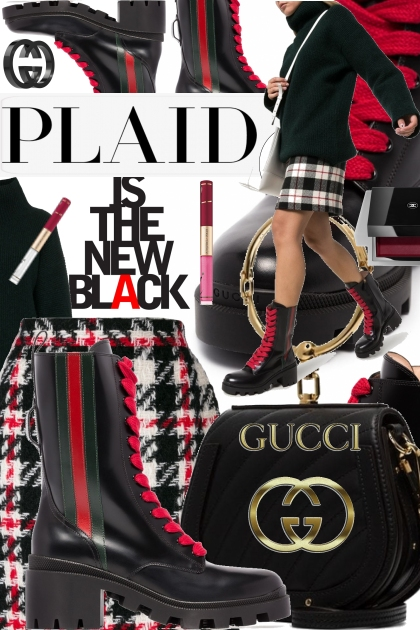 Plaid is the New Black for Back to School