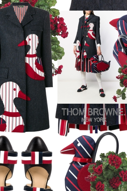 Fun Mix Duck Icon Bag from Thom Browne- Kreacja