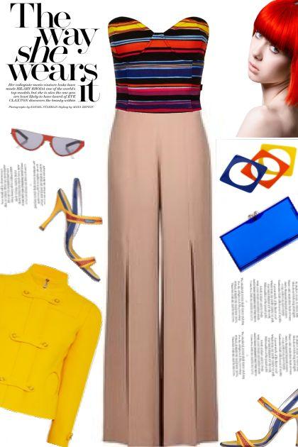 Bright Intrigue'- Fashion set