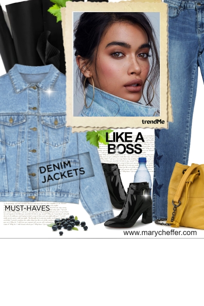 Like A Boss Denim