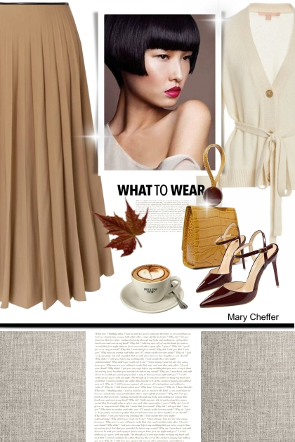 What to wear- Fashion set