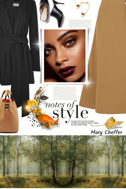 Notes of Style- Fashion set
