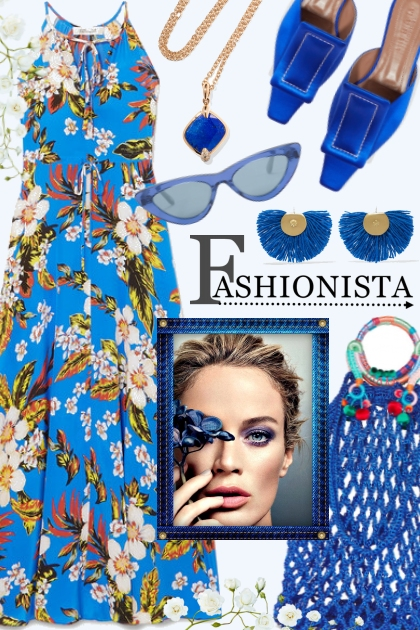 Fashionista~Wears the Blues