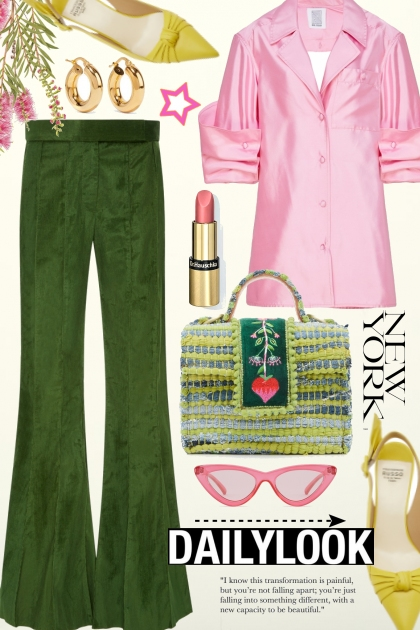 Daily Look~Pink Splash