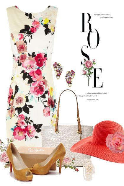Rose Garden Lantern Dress
