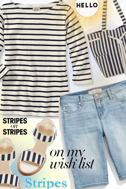 ❤️Stripes on Stripes