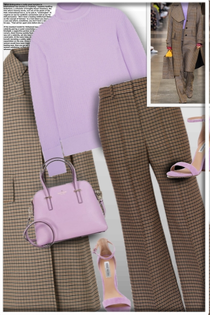 Purple Chic in the city!