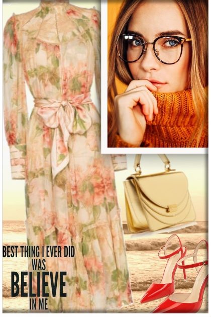 Believe in yourself! - Fashion set