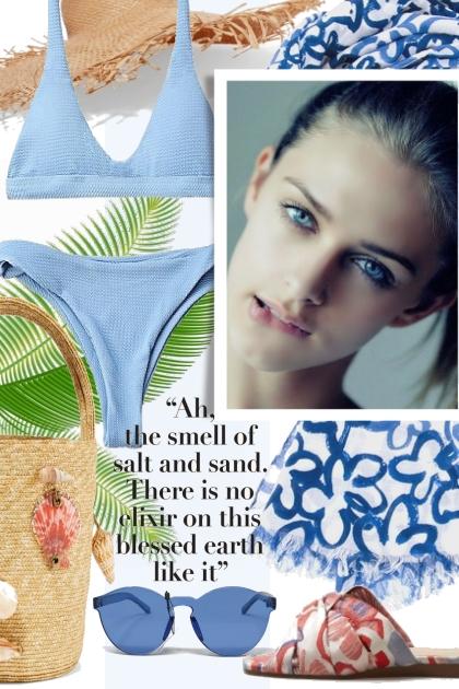 Sand and Salt Blue