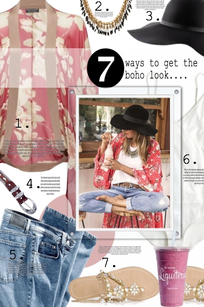 7 ways to get the boho look