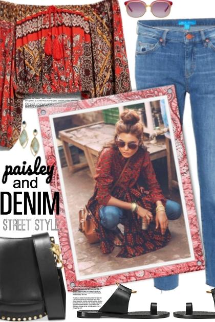 Paisley and Denim