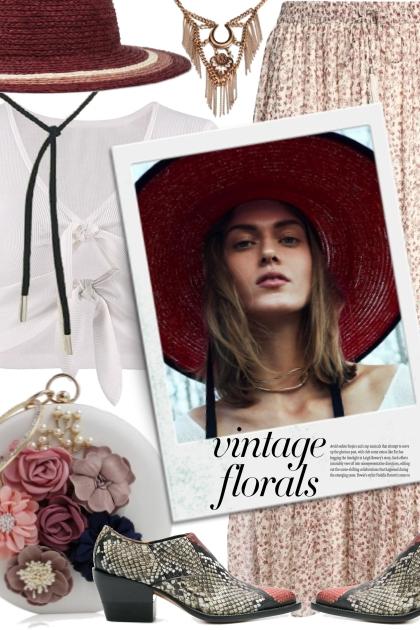 Vintage Florals Boho