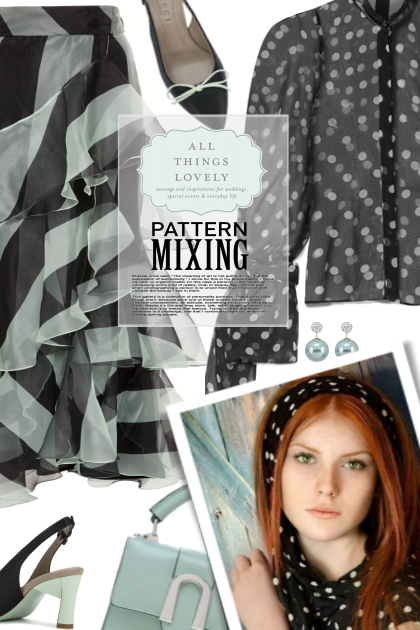 All things lovely pattern mixing