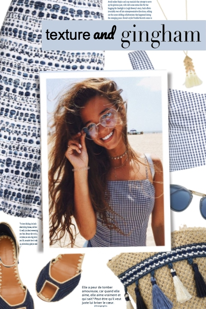 Texture & gingham